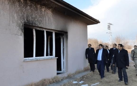 Vali Arslantaş'tan Ganiefendi köyü sakinlerine geçmiş olsun ziyareti