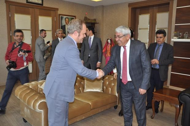 AB Türkiye Delegasyonu Poupeau'dan Başkan Karaçanta'ya ziyaret